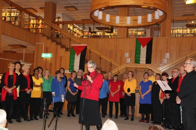 2011 från konsert på Biblioteket efter Palestinaresa