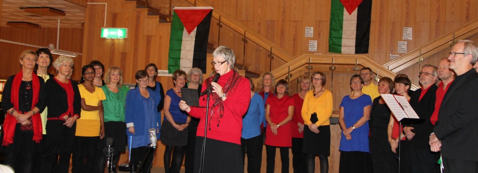 2012 från konsert på Biblioteket efter Palestinaresa